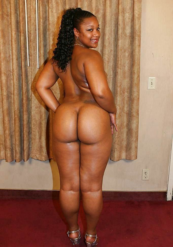 black fat ass naked