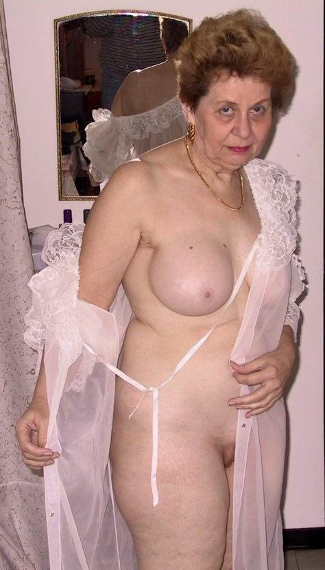 very old granny seducing and posing from retired sluts