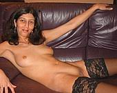 Hot mature lady showing off from 40 plus 50 plus magazine