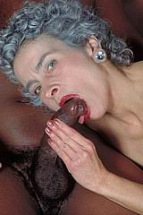 Grey haired granny interracial hardcore from Old Tarts